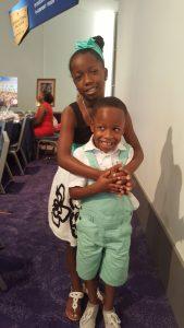 Nia Mya and Brother Ronald