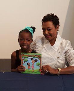 Janet and Accomplished Author Nia Mya Reese