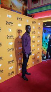 "Actor Damson Idris plays ""Franklin Saint"""