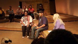 Playwright, Ruth P. Watson, Director, Tom Jones and Horizon Producing Director, Lisa Adler