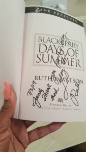 My personal autographed copy